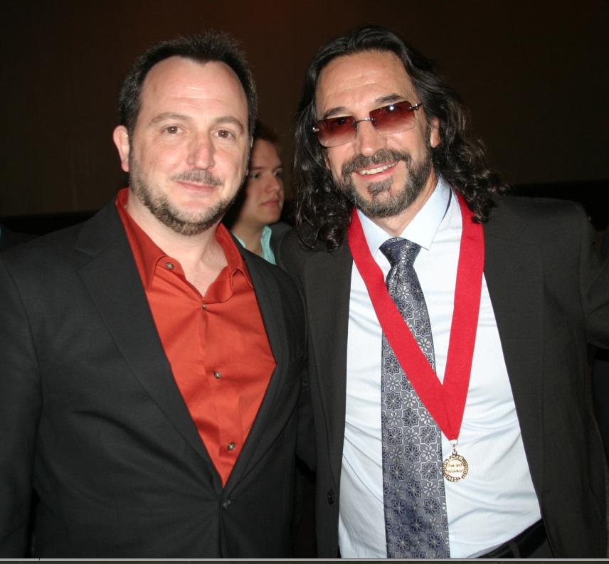 with Marco Antonio Solis