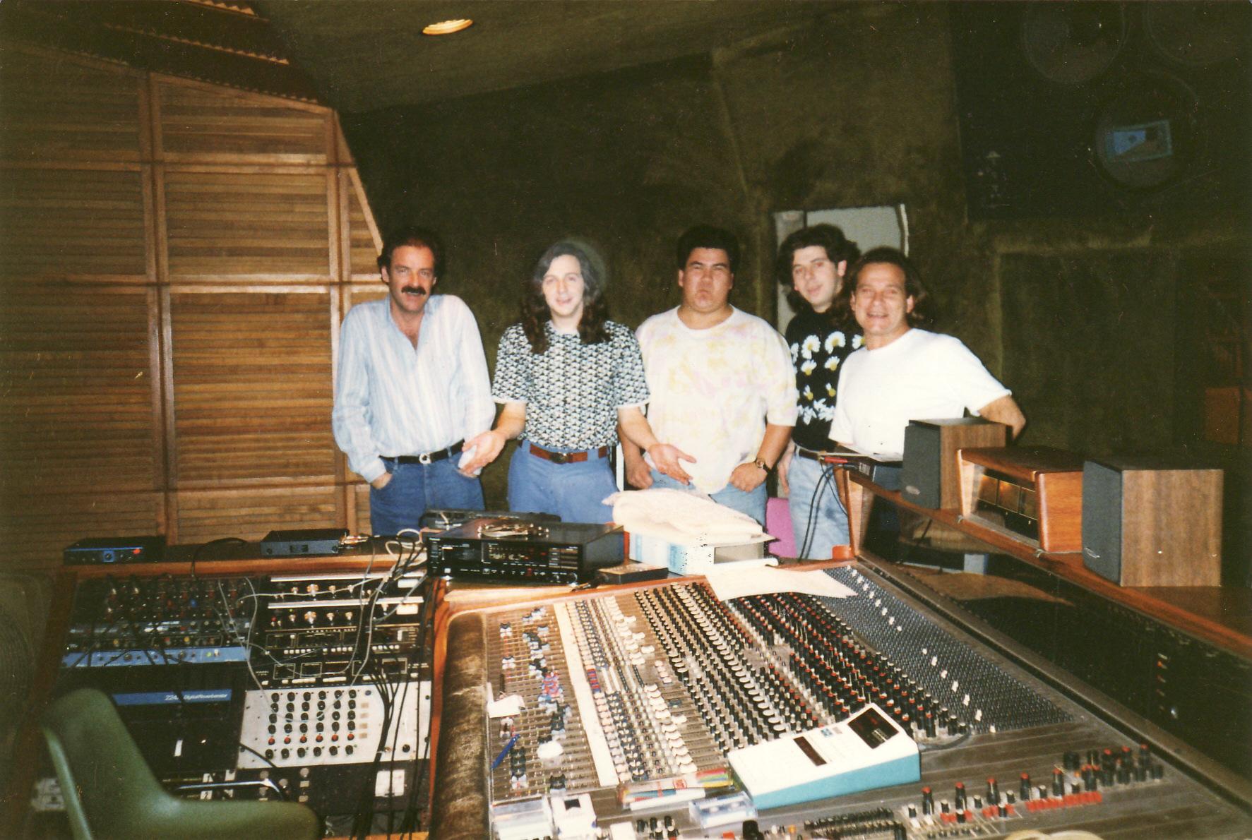 La Sonora de Bruno Alberto - Recording Session