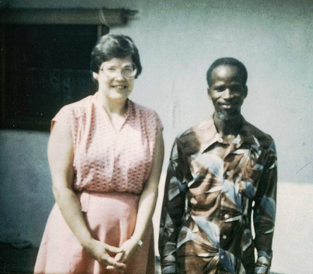 Mom and Bokari reunited in 1983