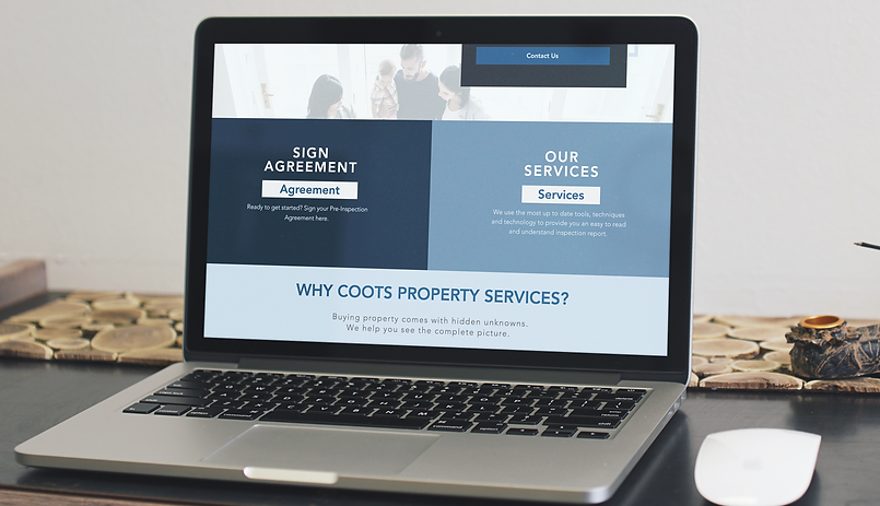 Coots Property Sevices Mockup