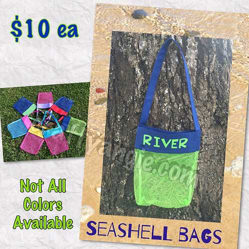 Seashell Bags Personalized
