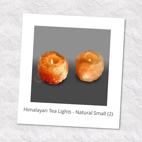 Himalayan Salt Small Tea Lights*