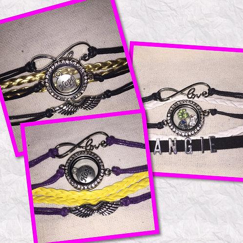 Floating Locket Bracelets