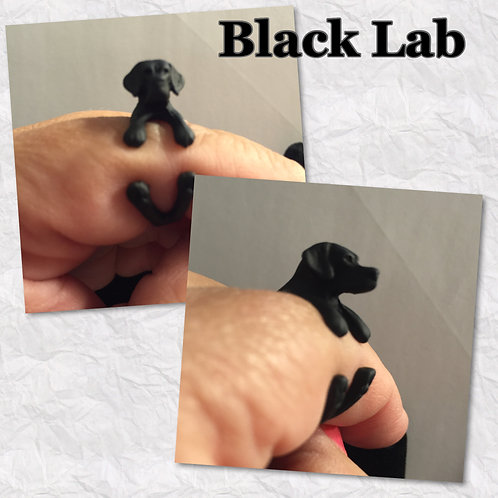 Black Lab Rings