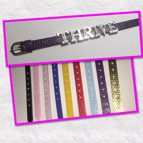 Leather Slider Bracelets