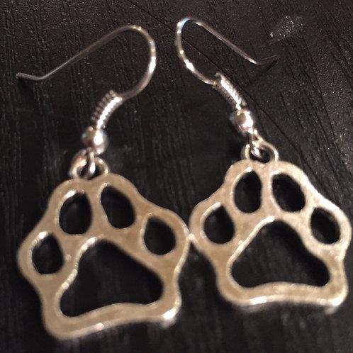 Paw Dangle Earrings