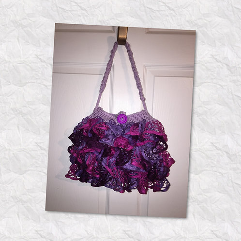 Pink/Purple Ruffled Purses