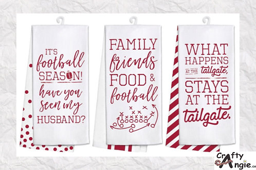 Tailgating Towels Crimson