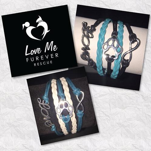 Love Me Furever Fundraiser Paw Bracelets