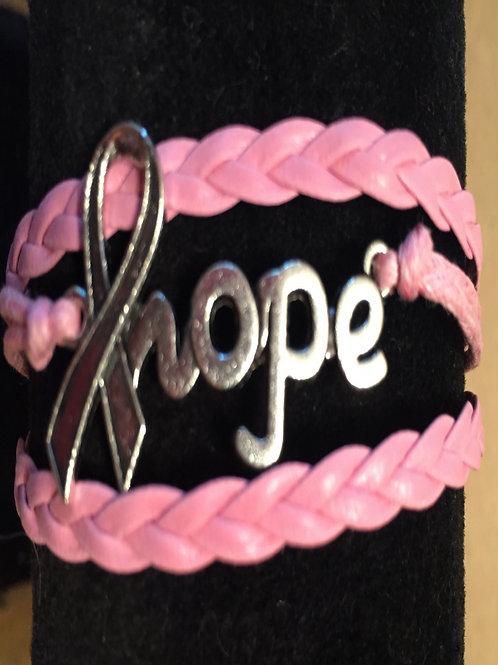 Ribbon Hope Bracelet