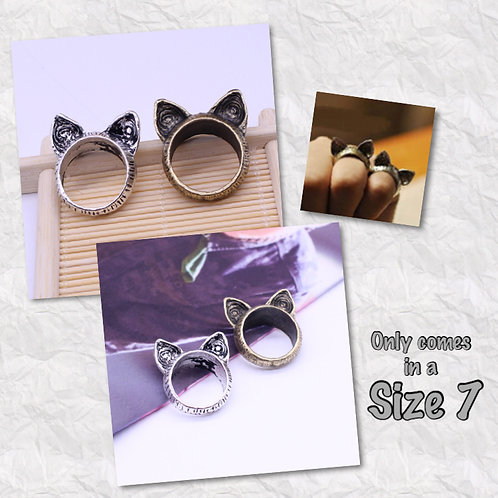 Cat Ear Rescue Fundraiser Rings