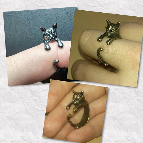 Cat Rescue Fundraiser Rings