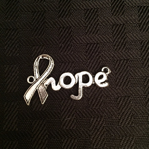 Hope Ribbon Charm
