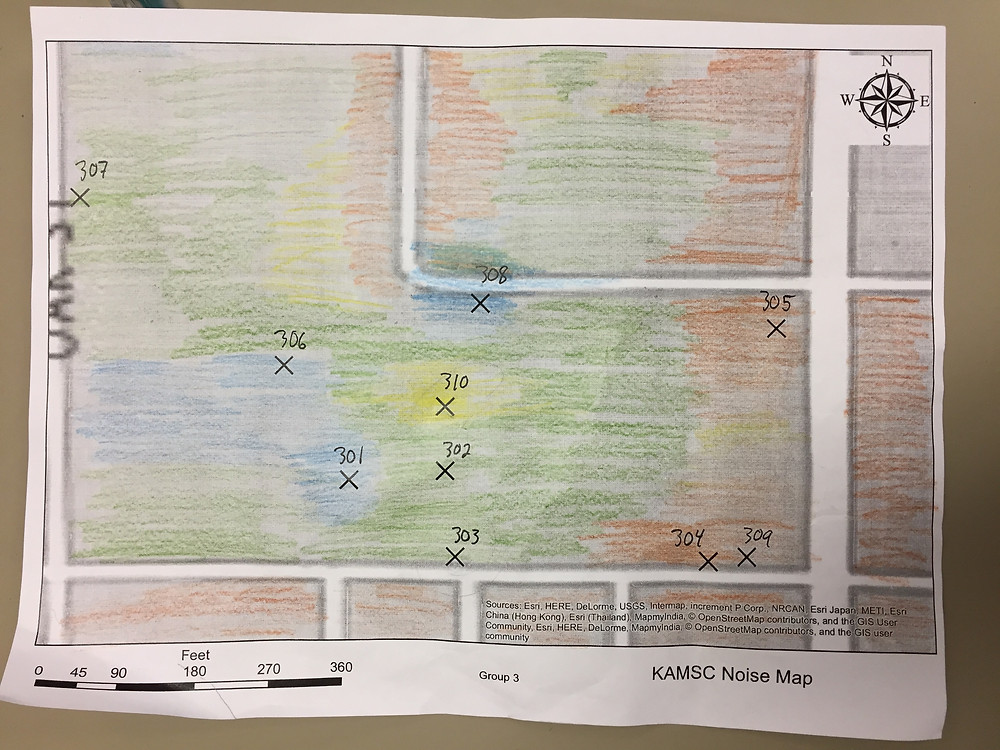 A student's sound map