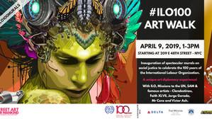 Art Walk: ILO100 Murals Overlooking the UN