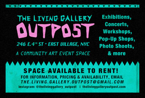 GRAND OPENING: The Living Gallery Outpost