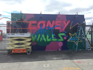 2017 Coney Art Walls Program Begins
