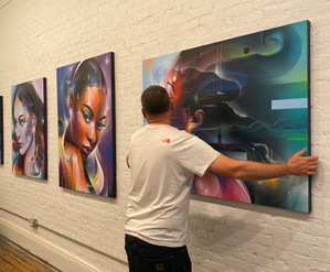 Soul Searching: Mr Cenz at 212 Arts [VIDEO]