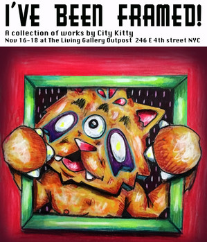 I've Been Framed: A Collection of Works By City Kitty