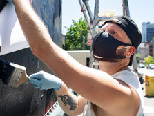 PRIDE Begins Today with a Dusty Rebel Photo Mural