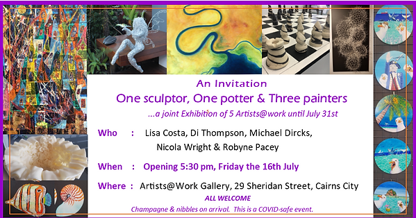 One Sculptor, One Potter, 3 painters Flyer.png