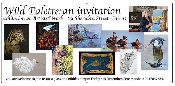 Invitation - Pete Marsall exhibition 4 .