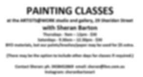 Sheran Barton - ad for classes May 20.JP