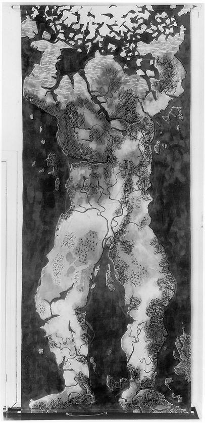 Atlas, tekstiltrykk, Eli Hovdenak