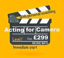 Acting for Camera Course