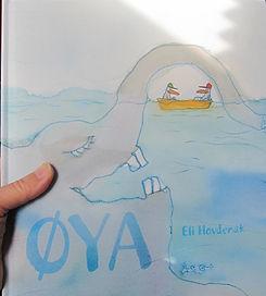 Øya bildebok for barn av Eli hovdenak