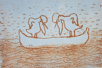Øya bildebok av Eli Hovdenak