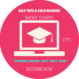 Self Tape & Cold Reading- Short Course