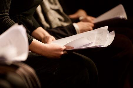 Cold Reading- Scripts Actors