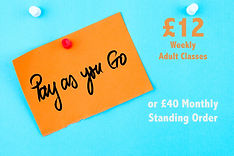 Pay as you go acting classes