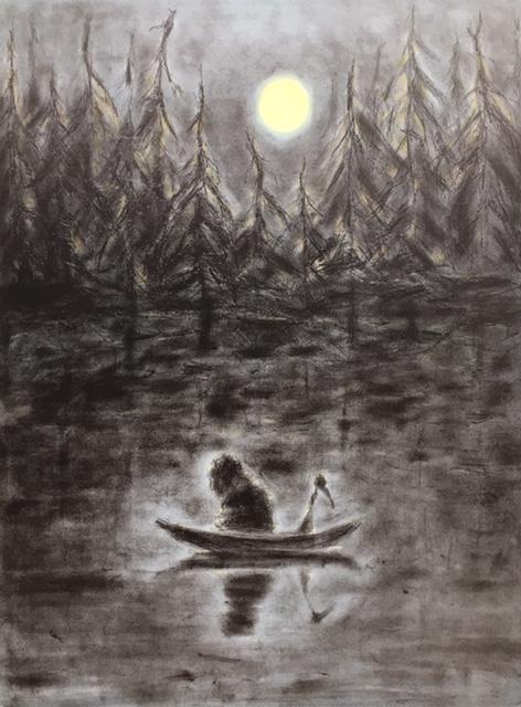 Under månen,over vannet