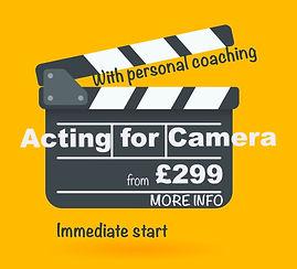 Screen Acting Course