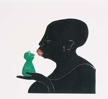Kysse frosken