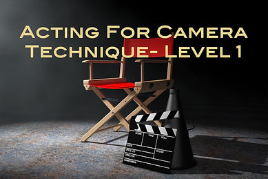 Acting For Camera Level