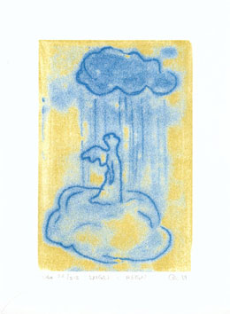 Engel i regn