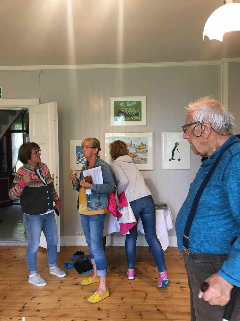 Åpning på Rosvoll prestegård