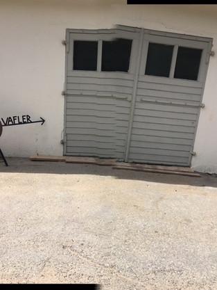 Vafler og garasje