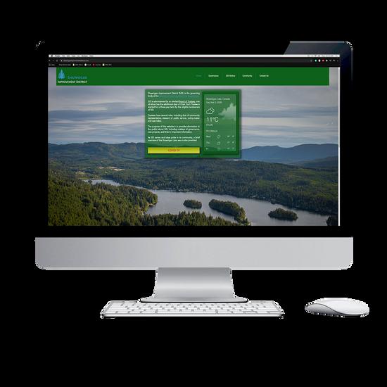 Shawnigan Improvement District Website - Computer MockUp.png