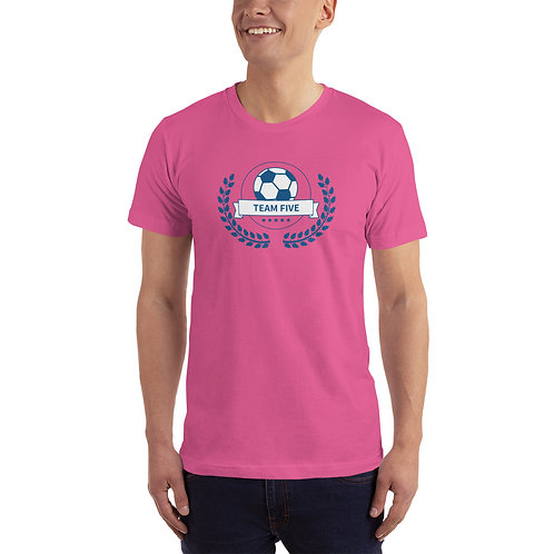 Team 5 T-Shirt Jersey Mockup #2