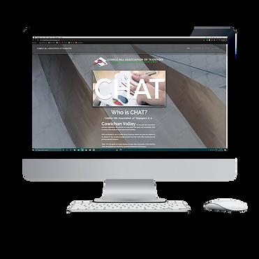 CHAT Website - Computer Mock - Freedom V