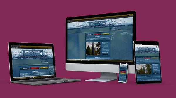 BEID Multi Device Website Mock Up