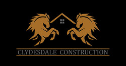 Clydesdale Construction Logo Mockup