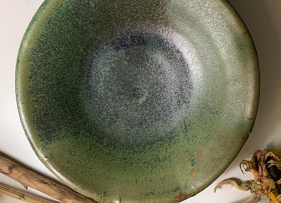 Forest Green Serving Dish