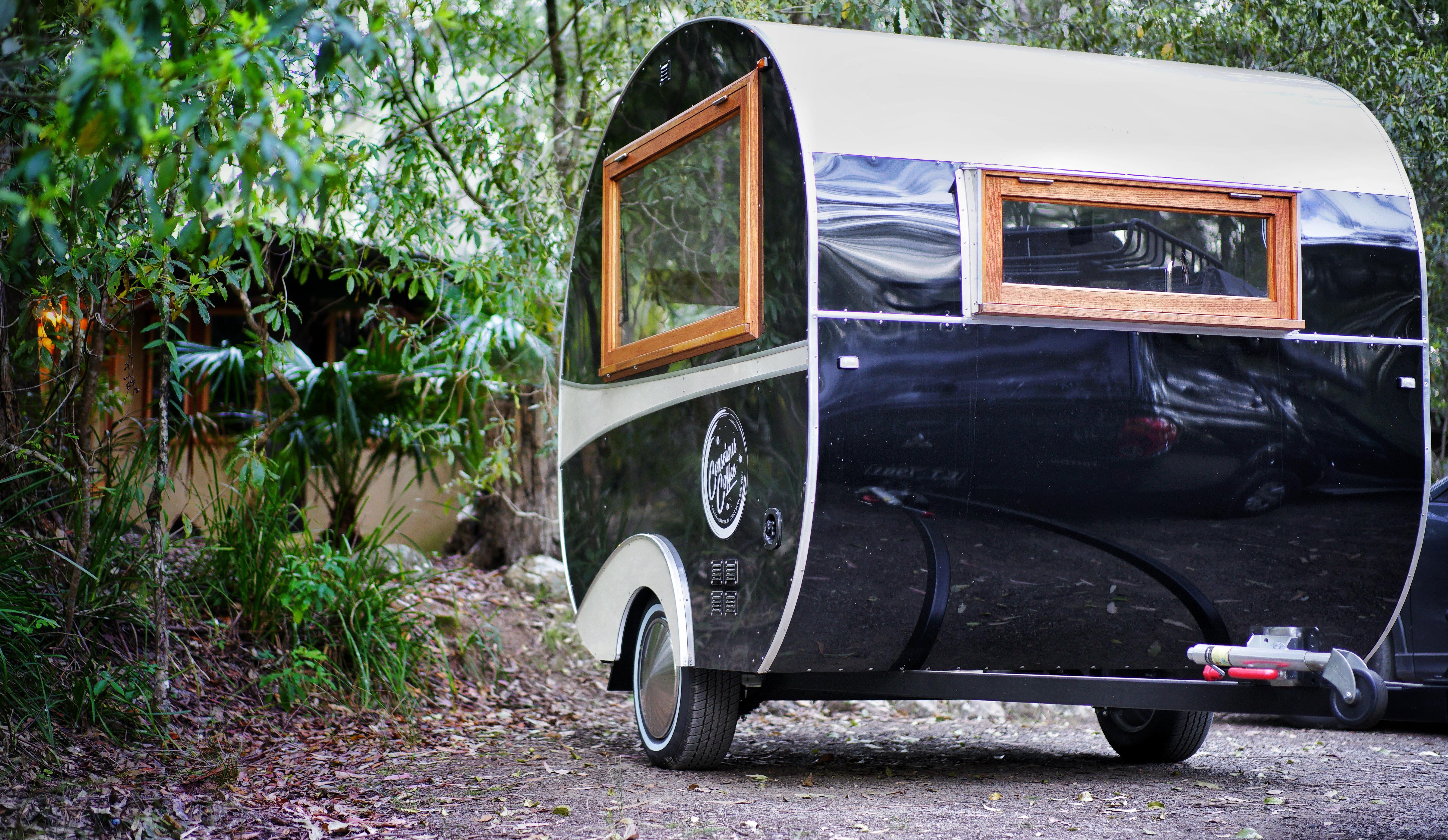 Hire Vintage Caravan - Minimum