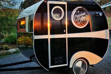 Vintage Coffee Caravan for hire