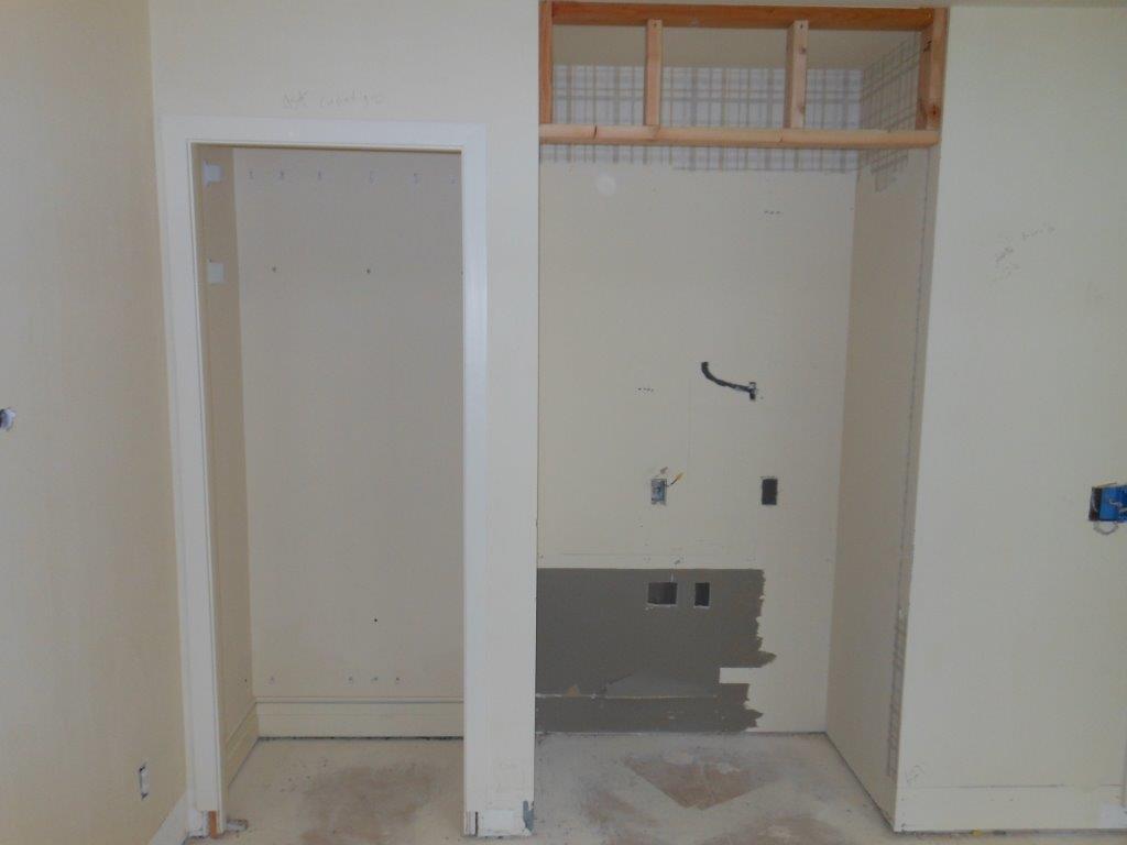 guest bedroom in progress